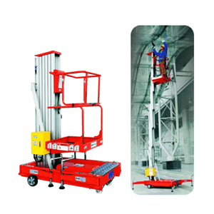 Tangga Elektrik - Electric Single Person Aerial Work Platform 10 Meter