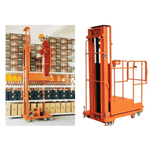 Tangga Elektrik - Semi Electric Aerial Order Picker 3,3 Meter